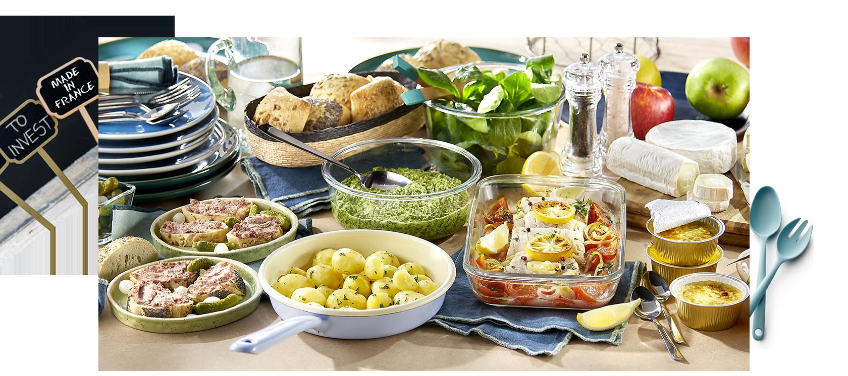 Un repas origine France Netto