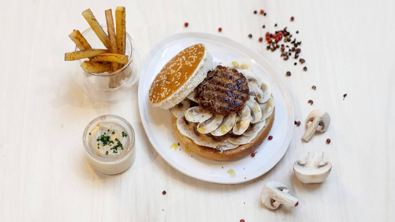 Burger parisien for Four a pain exterieur pas cher