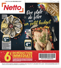 Discount Alimentaire Promos Déstockage Magasins Netto