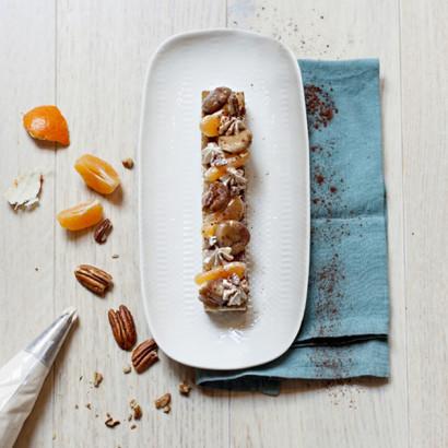 Biscuit moelleux aux marrons et clémentines